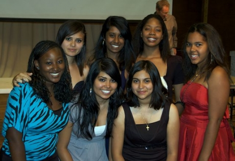 Girls of the class of 2010